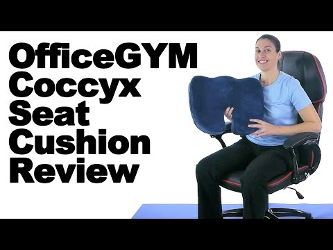 OfficeGYM Coccyx Seat Cushion Review & Proper Sitting Tips - Ask Doctor Jo