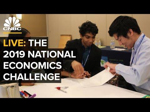 Watch CNBC's Andrew Ross Sorkin host the 2019 National Economics Challenge