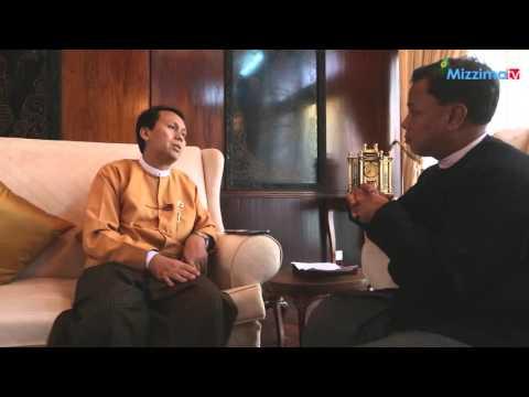 Mizzima Editor In-Chief U Soe Myint interview Yangon Chief Minister U Phyo Min Thein
