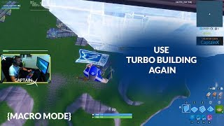Turbo Building - New Way - Fortnite Patch - Macros