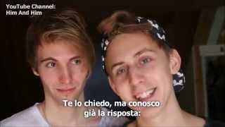 """Per Adolescenti Gay - il """"Boyfriend Tag"""" Parte 2 (SUB-ITA) Bryan e Pascal"""