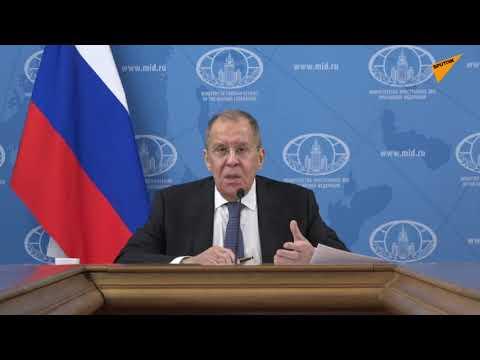 Сергей Лавров ответил на вопрос журналиста из Азербайджана о Нагорном Карабахе