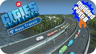 Let's Play Cities Skylines: MODDED Mass Transit DLC. A beautiful bl...
