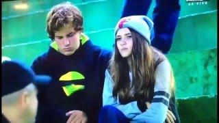 El fútbol y el amor tienen altos y bajos. Pareja famosa por pelear en el estadio