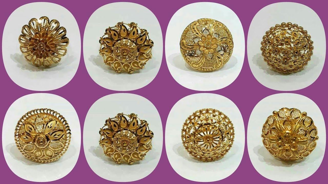Latest 1 Gram Pure Gold Rings Design | Gold Rings Design light ...