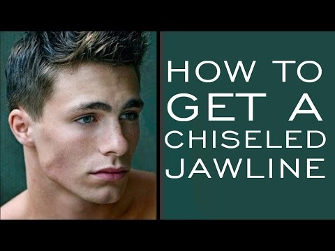 HOW TO HAVE A CHISELED JAWLINE | 5 Tips for Stronger Jawline for Men Mp3