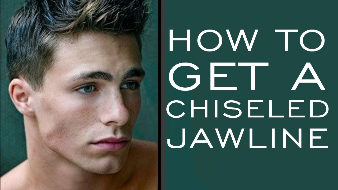 How To Get A More Pronounced Jaw Line