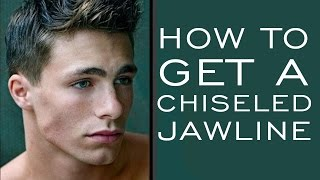 HOW TO HAVE A CHISELED JAWLINE | 5 Tips for Stronger Jawline for Men