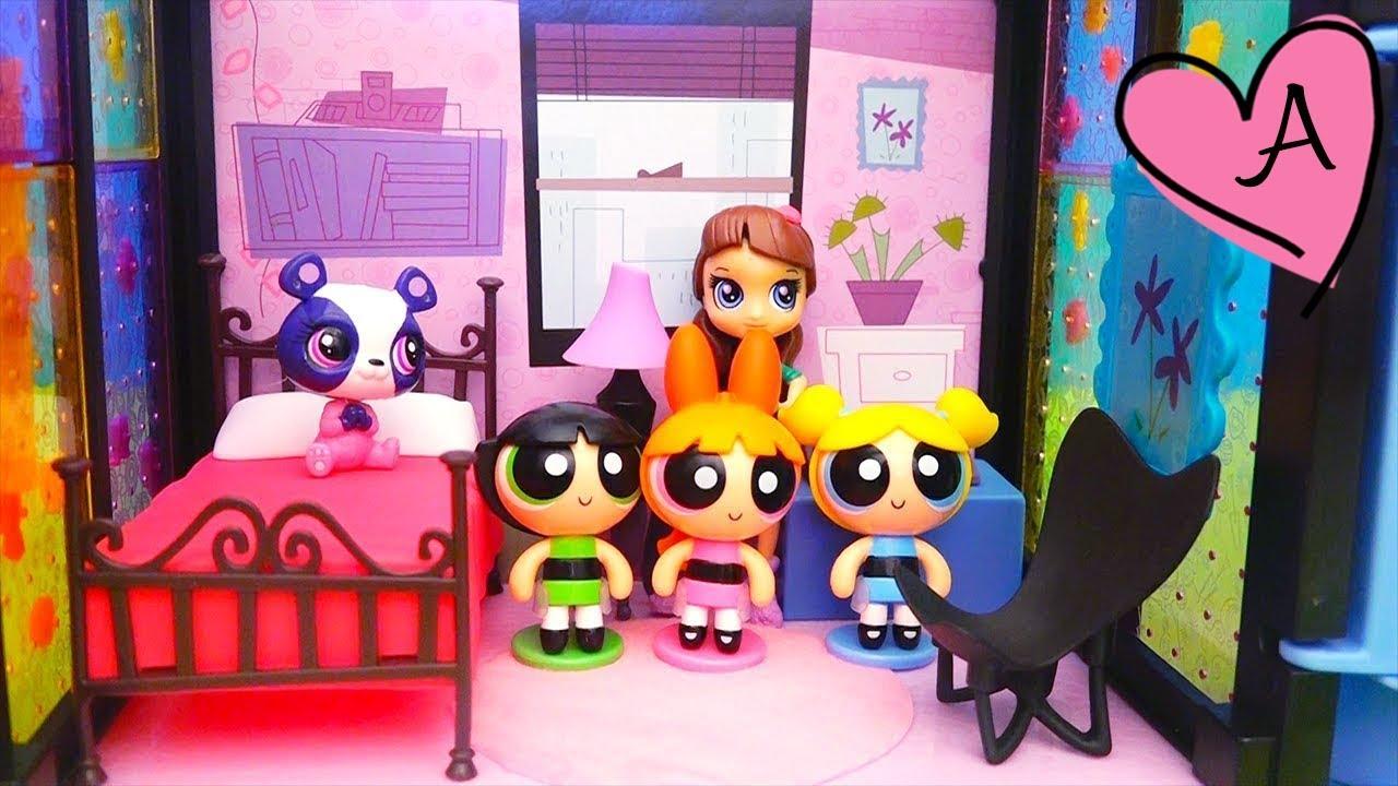Las Chicas Superpoderosas encuentran mascotas LPS | Muñecas y ...