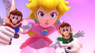 Super Mario Odyssey - Final Boss Evil Peach & Ending