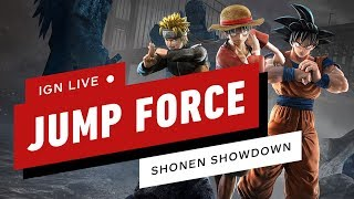 Jump Force Tournament (Shonen Showdown) - IGN Live