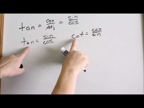 Lesson 3  - Proving Tangent = Sin/Cos