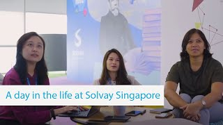 Welcome to Solvay's New Collaboration Area