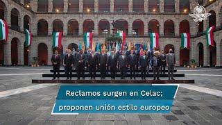 En cumbre de Celac discrepan por puntos ideológicos en tema Venezuela y Cuba; OEA, blanco de críticas. AMLO llamó a países de región a conformar bloque con EU y Canadá para la cooperación y el desarrollo