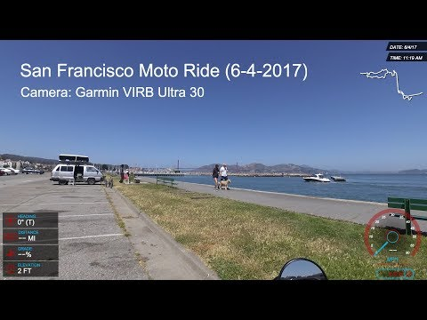 San Francisco Motorcycle Ride - Marin Headlands