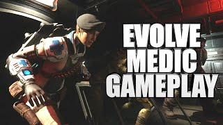 Evolve Big Alpha Medic Gameplay - Val The Medic - Xbox One Medic Beta Gameplay 1080P
