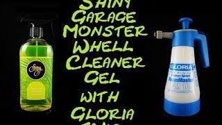 Shiny Garage Monster Wheel Cleaner Gel on Gloria FM10 www.kosmetykaaut.pl