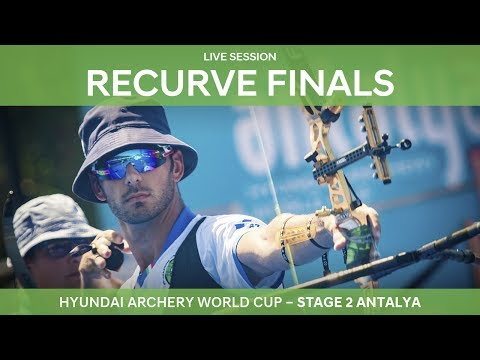 Full session: Recurve Finals | Antalya 2017 Hyundai Archery World Cup S2
