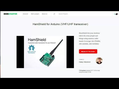 HamShield:Kickstarting an Amateur Radio Project