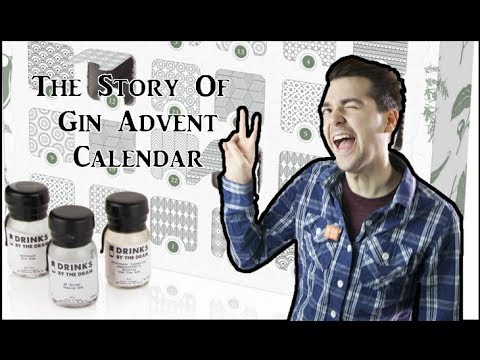 The Story Of Gin Advent Calendar