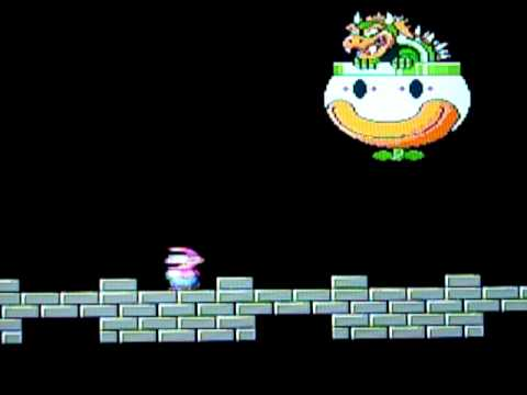 Super Mario World Bowser S Castle Youtube