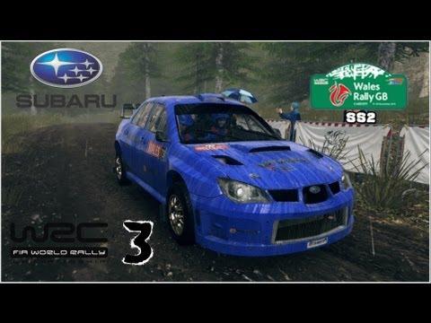 WRC 3 - Subaru Impreza WRC 07 - Wales Rally GB - Monument
