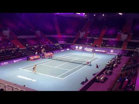 Saint-Petersburg Open 2018. Siniakova d. Vekic. Donna fires!