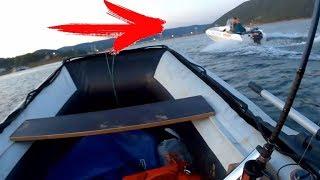 ПРИПЛЫЛИ! ТОНУ НА РЫБАЛКЕ! Очень не спокойная рыбалка на спиннинг осенью с лодки СИБИРИЯ