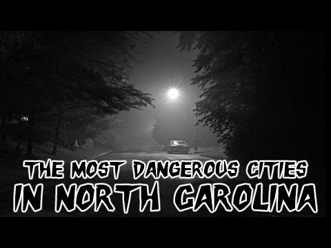 The 10 Most Dangerous Cities in North Carolina Explained