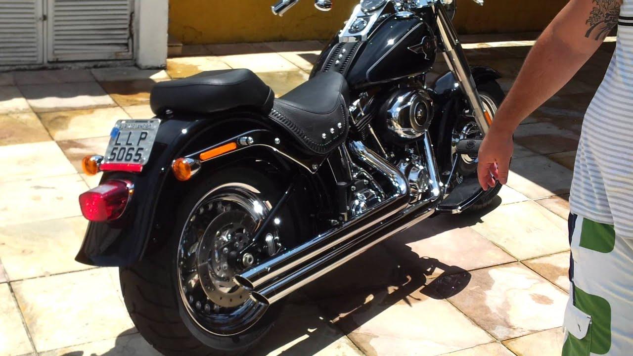 Harley Softail Fatboy Cobra Speedster Slashdown