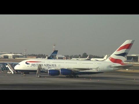 British Airways A380 First Class, Johannesburg to London