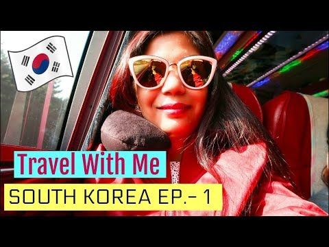 Travel With Me To KOREA Vlog Ep -1 | SuperPrincessjo