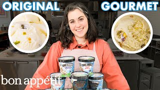 Pastry Chef Attempts to Make Gourmet Ben & Jerry's Ice Cream | Bon Apptit