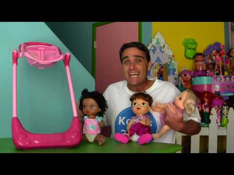 Baby Alive Swing and High Chair Combo ! || Toy Reviews || Konas2002