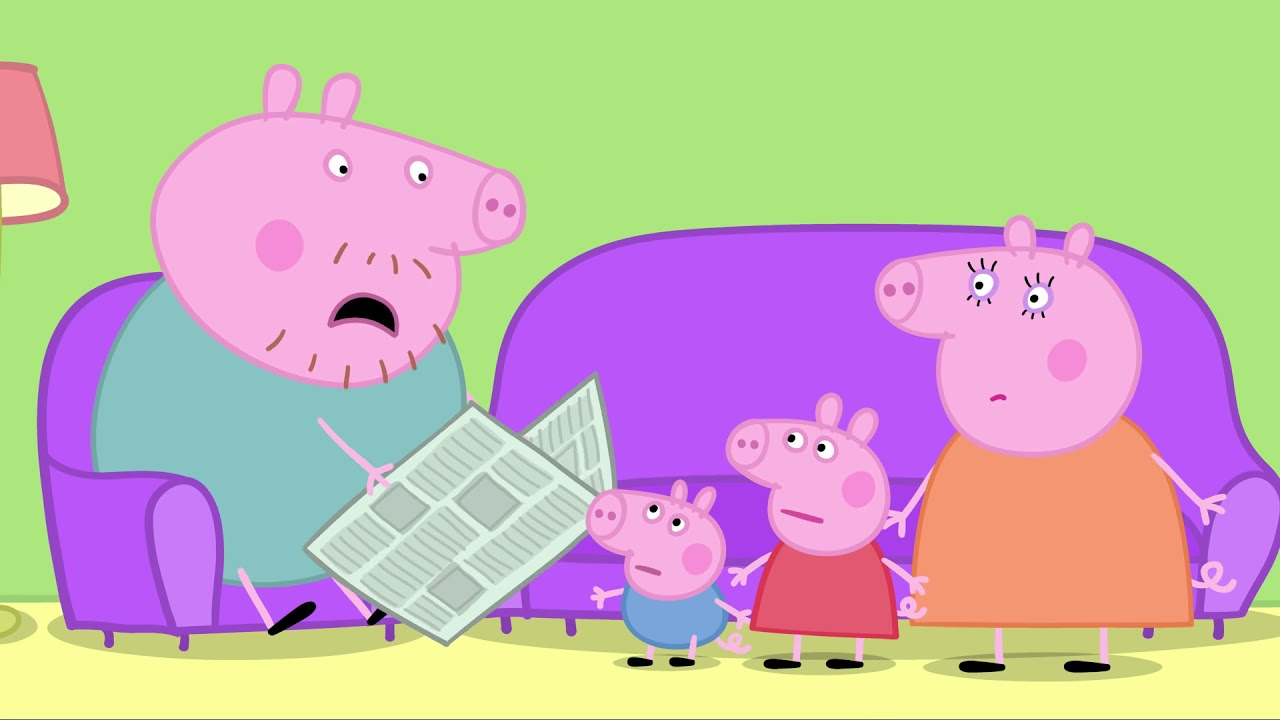 Learn French FAST and EASY! Peppa Pig in french with subtitles!