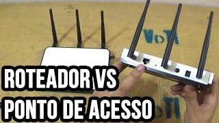 Diferença entre roteador e ponto de acesso (Access point)