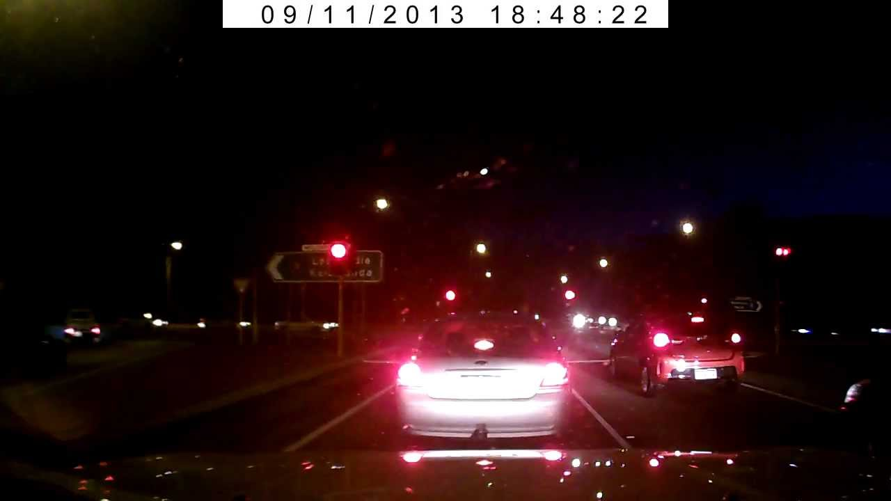 Perth Head On Car Crash Caught Live On Camera Wattle Grove 2013