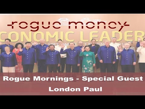 Rogue Mornings: Guest - London Paul  (11/13/2017)