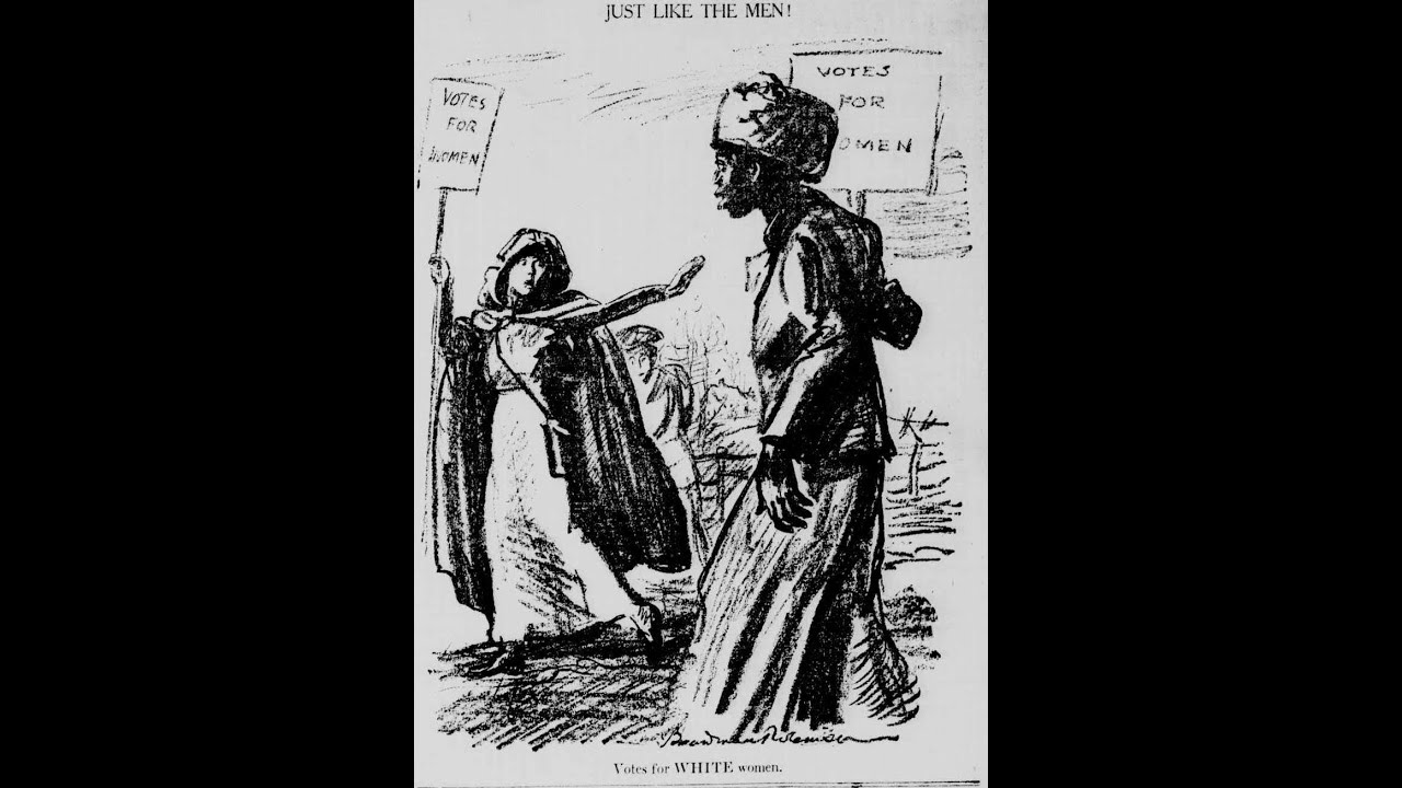 The Early History of The White Woman Suffrage & Feminist Movement