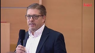 Konferencja w WSKSiM: Christopher Biedermann (PKP Energetyka)