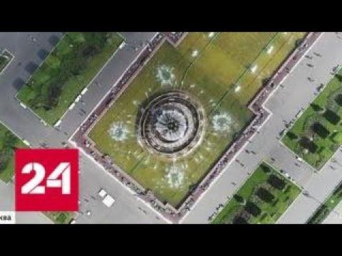 В Центральном павильоне ВДНХ обнаружили барельефы середины прошлого века - Россия 24