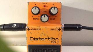 1980's Boss DS1 (with Toshiba TA7136AP chip) demo