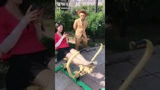 Coi cấm cười 2019 😱 Hài TROLL đường phố Trung Quốc P2😱【Street Troll】  Laugh Torn Mouth 2019
