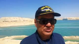 اللواء محمد الصاوى بطل أكتوبر من قناة السويس الجديدة : الجيش قادر على قهرالمستحيل والسيسي بطل