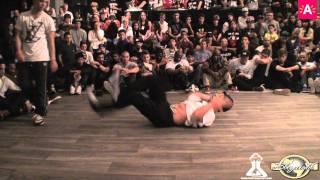 HUSTLE KIDZ vs VAGABONDS (RAW CIRCLES 2012)
