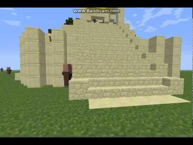 Mesopotamia Ziggurat in Minecraft