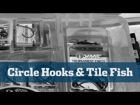 Florida Sport Fishing TV - Rigging Station Deep Drop Circle Hooks Tilefish Rigs Tips Offshore