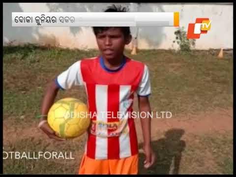 3 Slum Kids From Odisha Selected For Boca Juniors Football School
