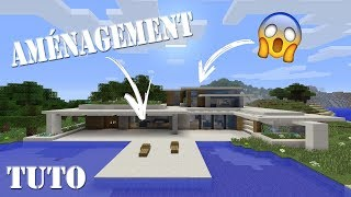 AMENAGEMENT DE MA MAISON DE LUXE SUR MINECRAFT PS4 !