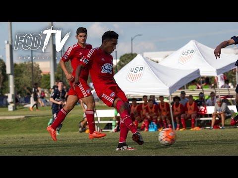 ACADEMY PLAYOFF HIGHLIGHTS: FC Dallas U16 vs Real Salt Lake U16 7.6.16 | FCDTV